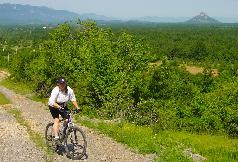 Bicycling in Lika and Velebit